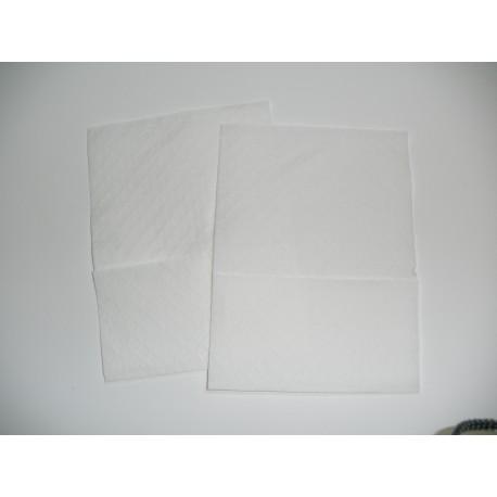 mini-servis tisú blanco