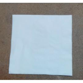 servilleta 40x40 2 capas blanco micropunto plegado 1/4