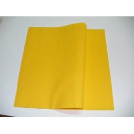 servilleta 40x40 airlaid amarillo plegado 1/4 personalizada 2 colores