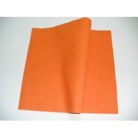 servilleta 30x40 2 capas naranja micropunto plegado 1/4 personalizada 1 color