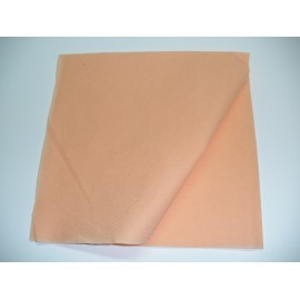 servilleta 40x40 2 capas salmónmicropunto plegado 1/4 personalizada 1 color