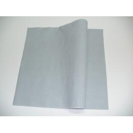 servilleta 40x40 2 capas crema micropunto plegado 1/4 personalizada 1 color